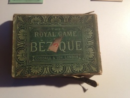 JEU, The Royal Game BEZIQUE,1872, Jeu Anglais, British Card Game - Group Games, Parlour Games