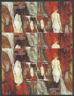 3x S.TOME E PRINCIPE - Art - Painting - Nudes - Lautrec - CTO - Nudes
