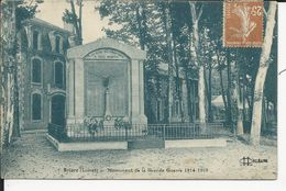 Monument  De La Grande Guerre   1914-18 - Briare