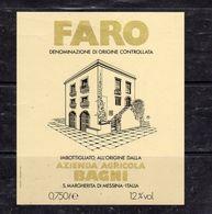 Messina - FARO - Azienda Agricola Bagni - - Etichette