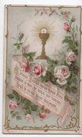 Image Religieuse/Ciboire/ Divin Jésus /vers 1890            IMPI14 - Devotieprenten