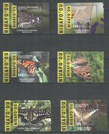 NIUAFO'OU - MNH - Animals - Insects - Butterflies 2015 - 2016 - Papillons