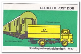 DDR 1979, Postfris MNH, Booklet - Carnets