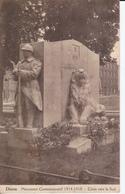 DISON - Monument Commémoratif De 1914-1918 (Côtés Vers Le Sud). - Dison