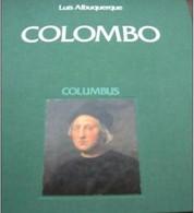 """LUIS ALBUQUERQUE -  VOLUME ESITO POSTE PORTOGHESI """" COLOMBO """" (INGLESE -PORTOGHESE) - Esplorazioni/Viaggi"""