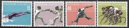 1958 Liechtenstein Mi.365-8 **MNH . Sport - Liechtenstein