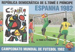 SAO TOME AND PRINCIPE 1982 World Cup Football PROOF - Sao Tome En Principe