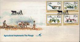 Ciskei 1990 - Pflüge Plows - MiNr 175-178 - Landwirtschaft
