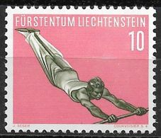 1957 Liechtenstein Mi.353 **MNH . Sport Reckturnen - Liechtenstein
