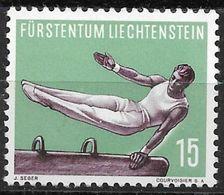 1957 Liechtenstein Mi.354 **MNH . Sport Turnen Am Seitpferd - Liechtenstein