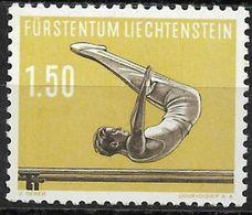 1957 Liechtenstein Mi.356 **MNH . Sport  Barrenturnen - Liechtenstein