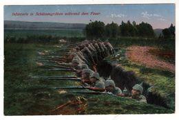 Nr.+  448,  Das Deutsche Heer, Schützengraben - War 1914-18