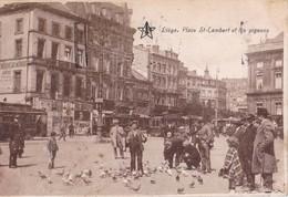 Liège Place St Lambert Et Les Piegeons - Liège