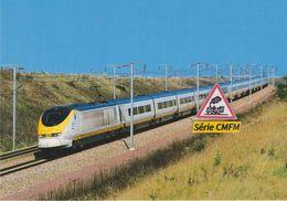 TGV Transmanche Londres - Paris, à Ver-sur-Launette (60) - - Trains