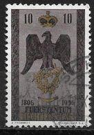 1956 Liechtenstein Mi.346 Used. 150 Jahre Souveränes Fürstentum Liechtenstein - Liechtenstein