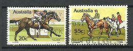 AUSTRALIA Horses Reiten Sport Häste, O - Horses