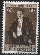 1956 Liechtenstein Mi.351 Used. 50. Geburtstag Von Fürst Franz Josef II - Liechtenstein