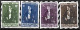 1956 Liechtenstein Mi.348-551 **MNH 50. Geburtstag Von Fürst Franz Josef II - Liechtenstein