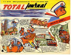 TOTAL JOURNAL 1965 N°44   LES CHEVAUX DE CIRQUE L ELEPHANT  ANIMAL INTELLIGENT  ETC ... 15  PAGES - Bücher, Zeitschriften, Comics