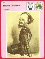 Jacques Offenbach, Compositeur Et Violoncelliste, Second Empire, Théâtre Français, Les Bouffes Parisiens, XIXe Siècle - Histoire