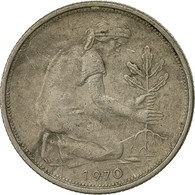 Monnaie, République Fédérale Allemande, 50 Pfennig, 1970, Munich, TB - [ 6] 1949-1990 : GDR - German Dem. Rep.
