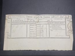 FRANCE - Billet De Loterie Royale , Tirage De Bordeaux En 1831 - L 15050 - Billets De Loterie