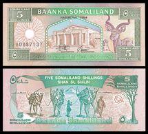 Somaliland 5 SHILLINGS 1994 P 1 UNC - Somalie