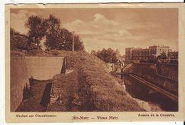 Cpa Metz(  Carte Allemande) - Metz