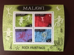 Malawi 1972 Rock Paintings Minisheet MNH - Malawi (1964-...)