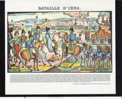 Publicité Pharmaceutique / Militaria Militaire / Série Napoléon Bonaparte / Bataille D'Iéna - Histoire