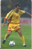 CARTE-PUCE-ROUMANIE-2000- SA1-JOUEUR FOOT EQUIPE NATIONALE-N°10-G.HAGI-BE - Sport
