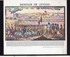 Publicité Pharmaceutique / Militaria Militaire / Série Napoléon Bonaparte / Bataille De Lutzen - History