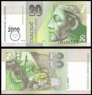 Slovakia 20 KORUN 2000 COMM. P 34 UNC ( Slovaquie ) - Slowakei