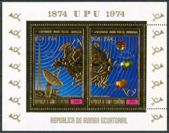 1974 Guinea Equatoriale Telecomunicazioni TelecommuncationsPrefor + Imperfor MNH** - Guinea Equatoriale