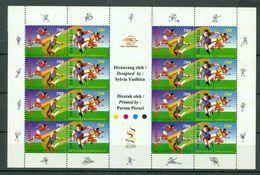 Indonesia 1997 - Sea Games XIX - Full Sheet MNH - Indonésie