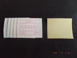 ATM.Jac Papier Crème. 5x - Postage Labels