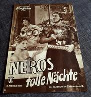 """Altes IFB-Filmprogramm (gelocht) - BRIGITTE BARDOT In """"Neros Tolle Nächte"""" Mit Vittorio De Sica ... - 180613 - Magazines"""