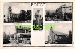 CPA BOUGE L'EGLISE SAINTE RITA LE COUVENT RUE DU CHATEAU - Namur