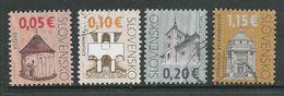 Slowakije, Yv 523-524-525-658, Gestempeld, Zie Scan - Slovaquie