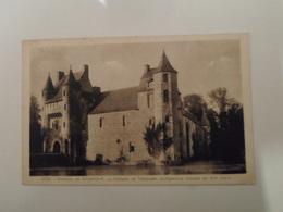 ILLE ET VILAINE   Environs De Paimpont  Château De Trécesson  Architecture Féodale Du XV Siècle - Paimpont