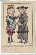 Clergé - ... Paroles Impies De Paix Et De Désarmement / Illustration ?? ++++ Collection R. G., #48 ++++ - Other Illustrators