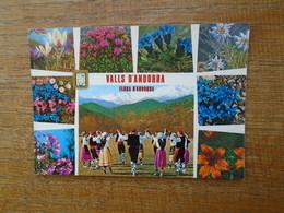 """Andorra , Valls D'andorra , Flora D'andorra , Multi-vues """""""" Beau Timbre """""""" - Andorra"""
