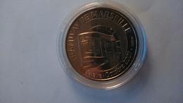 13 MARSEILLE TRAMWAY CHAVE MÉDAILLE MONNAIE DE PARIS 2008 DANS SA CAPSULE - Monnaie De Paris