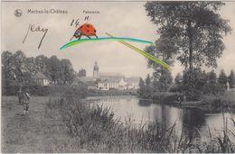 MERBES - Le - CHATEAU  PANORAMA  - 1911 - Merbes-le-Château