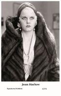 JEAN HARLOW - Film Star Pin Up PHOTO POSTCARD - 6-376 Swiftsure Postcard - Unclassified
