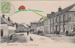 MOMIGNIES - MACQUENOISE  / Frontière FRANCO-BELGE - 1907 - Momignies