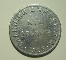 Greece 1 Drachma 1926 - Griekenland