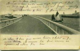 BELGIUM - OSTENDE - L'ESTACADE - EMTREE DU PORT - EDIT V.G. - 1900s ( 2540) - Oostende