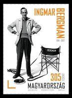Hungary 2018 Mih. 5944 Cinema. Swedish Film Director Ingmar Bergman MNH ** - Hongarije