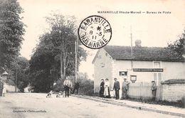 52 - Maranville - Le Bureau De Poste Magnifiquement Animé - Autres Communes